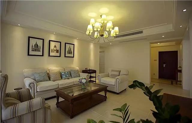 华泰国际豪园美式风格装修效果图