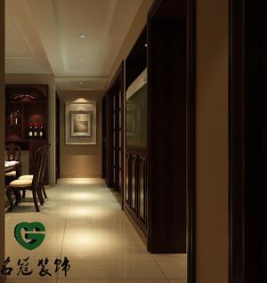 庐江110㎡欧式风格装修效果图