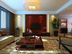 中海国际社区中式风格装修案例