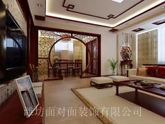 鲁发名城中式风格装修案例