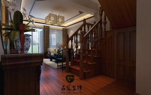 庐江98㎡中式风格装修效果图