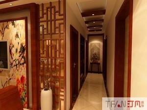 庐江131㎡中式风格装修效果图