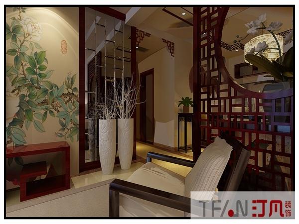 碧水雅居中式风格装修效果图