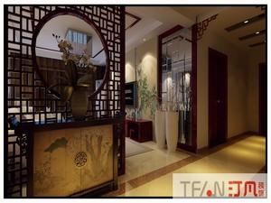 庐江140㎡中式风格装修效果图