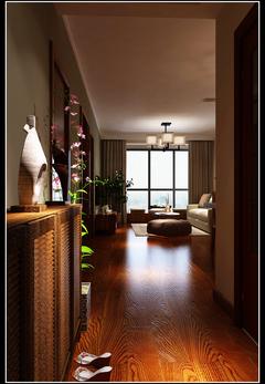 龙湖名景台中式风格装修案例