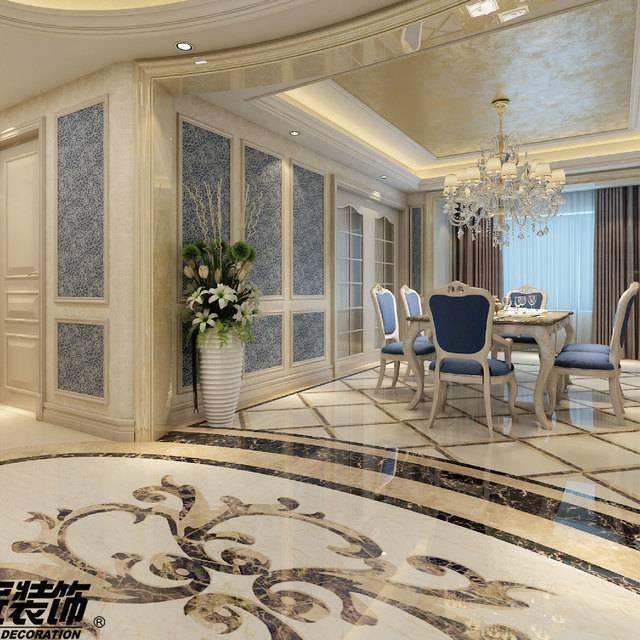 雅居乐星河湾217㎡普通户型古典风格装修案例