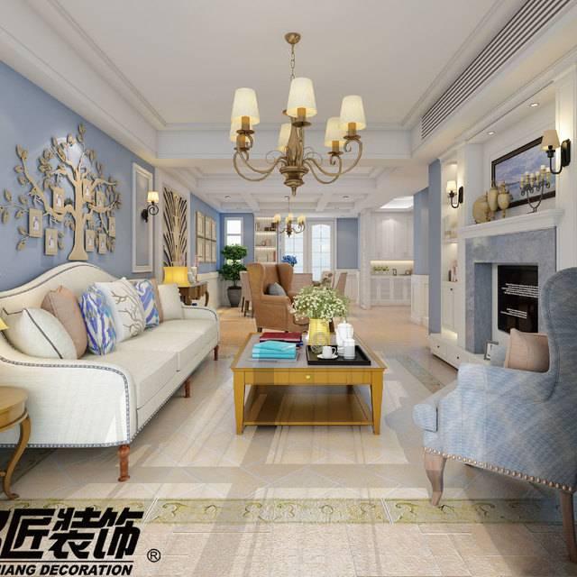 龙湖香醍漫步230㎡别墅中式风格装修案例