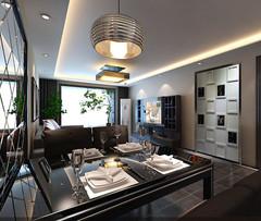 金色领寓欧式风格装修案例