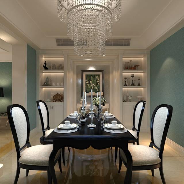龙湖龙誉城142㎡普通户型古典风格装修案例