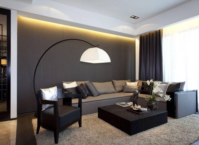 采菱公寓117㎡普通户型中式风格装修案例