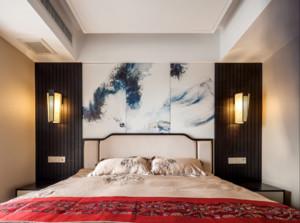龙泉驿89㎡中式风格装修效果图