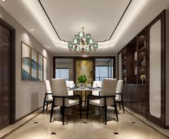 迦富·湖滨锦园中式风格装修案例
