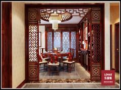 江南新城中式风格装修案例