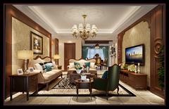 丹桂公寓美式风格装修案例