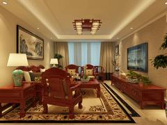 云龙港湾中式风格装修案例