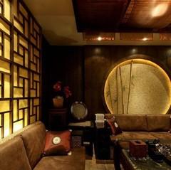 松江-点沫茶楼中式风格装修案例
