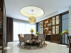 白金汉宫中式风格装修案例
