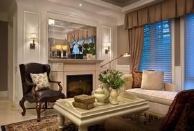 青岛秀兰禧悦都三居复古混搭家装装修设计案例