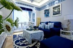 凤凰世纪家园地中海风格装修案例