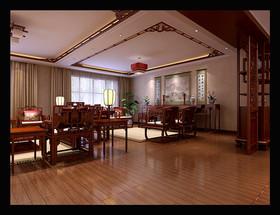 平中式古典装修模版装修设计案例