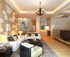 中外公寓现代简约装修案例