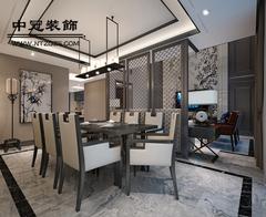 九玺台中式风格装修案例