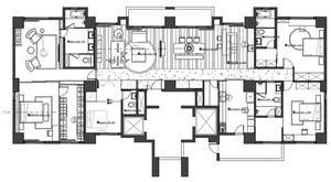 章丘170㎡現代簡約裝修效果圖