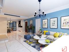 即墨山大公寓现代简约装修案例