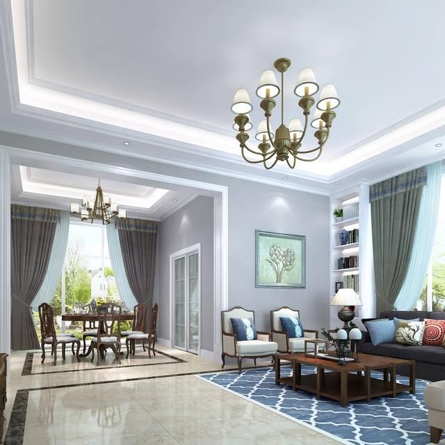 碧桂园500㎡别墅欧式风格装修案例