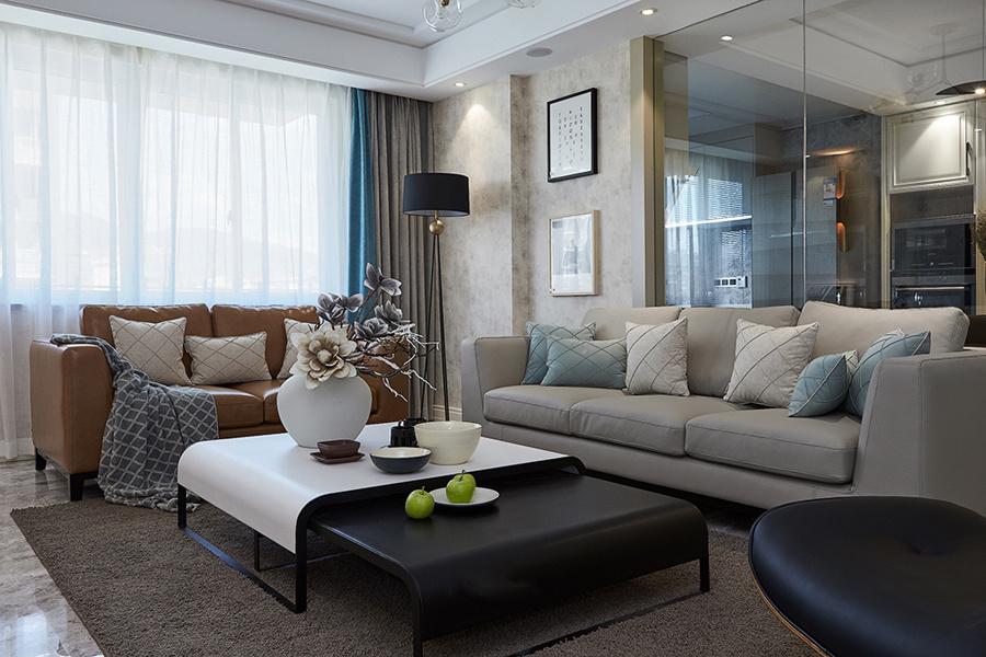 新世纪公寓现代简约装修效果图