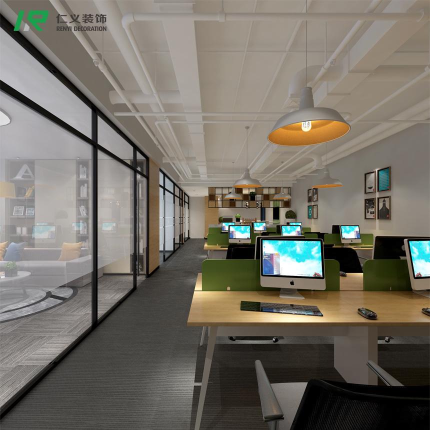 齐鲁软件园现代简约装修效果图