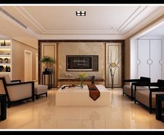 中海奥龙观邸现代简约装修案例
