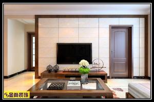 济南105㎡中式风格装修效果图