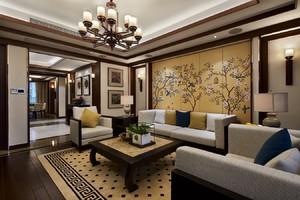 扬州130㎡中式风格装修效果图