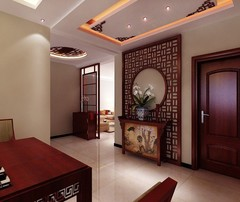 K2·京南狮子城中式风格装修案例