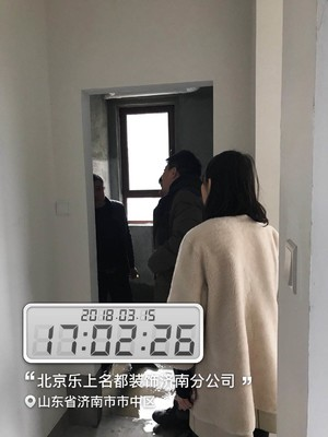 济南190㎡田园风格装修效果图