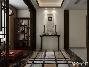 唐山170㎡中式风格装修效果图