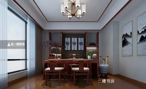 南昌650㎡中式风格装修效果图