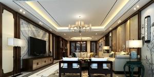 唐山168㎡中式风格装修效果图