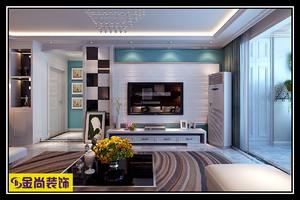 济南136㎡现代简约装修效果图