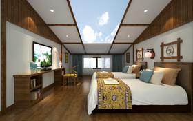 武陵源西蘭卡普主題酒店裝修設計案例
