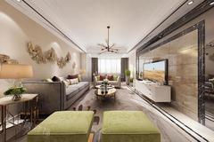 静江公寓现代简约装修案例