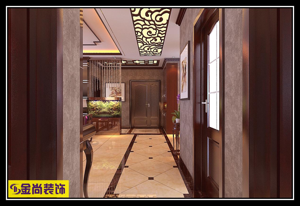 百步亭·中国MALL中式风格装修效果图