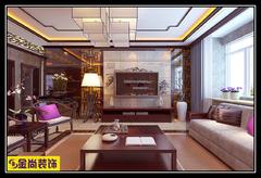 百步亭·中国MALL中式风格装修案例