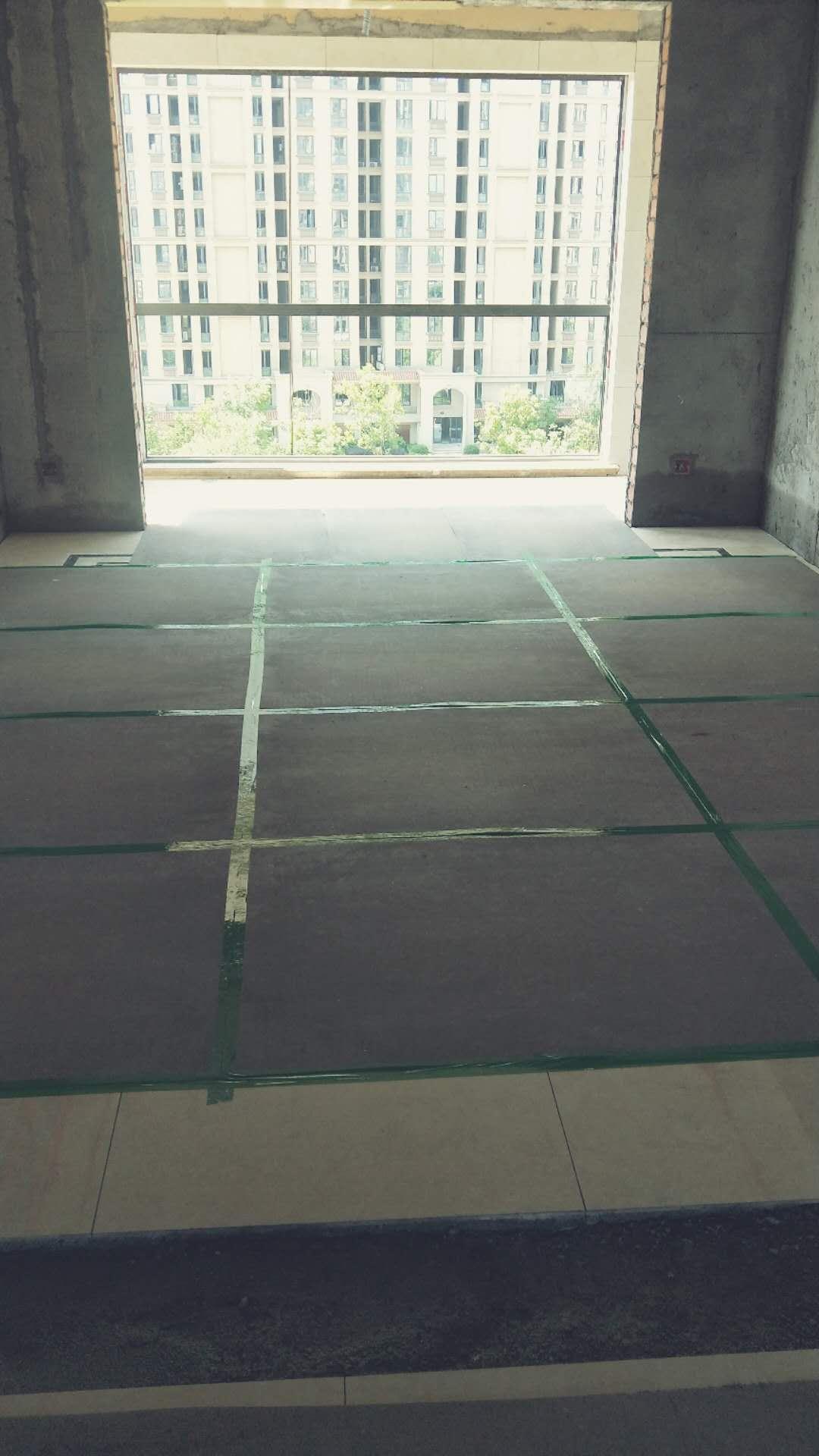 新中义凯莱花宛墙地砖施工中装修案例