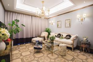 杭州100㎡美式风格装修效果图