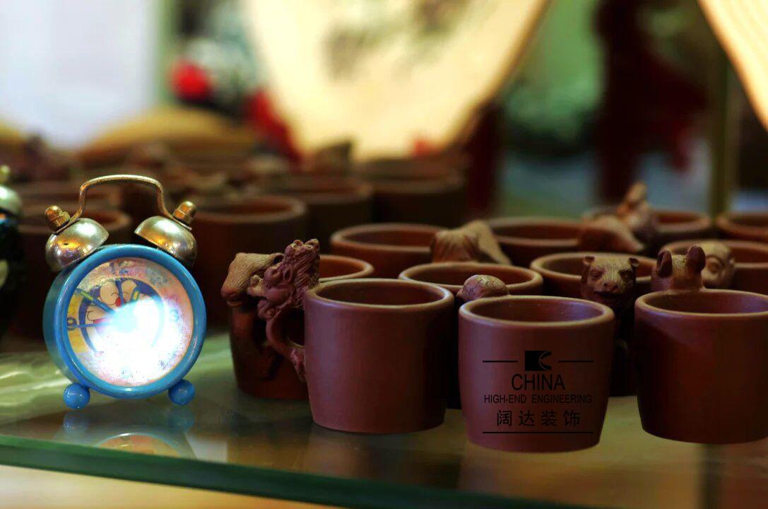 花神咖啡混搭风格装修效果图