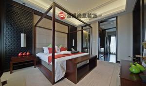 丹阳146㎡中式风格装修效果图