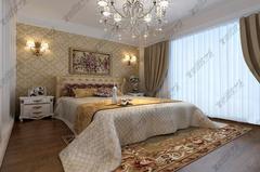 [义银装饰]碧桂园联排别墅250平米简欧设计欧式风格装修案例