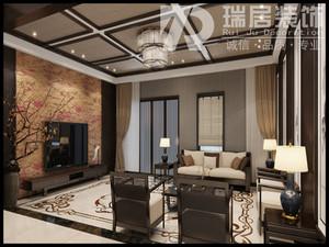 芜湖142㎡中式风格装修效果图